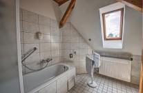 Szent Kristóf Panzió – Apartman Kilátással -Fürdőszoba